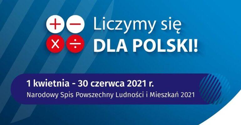 Narodowy Spis Powszechny Ludności i Mieszkań 2021.