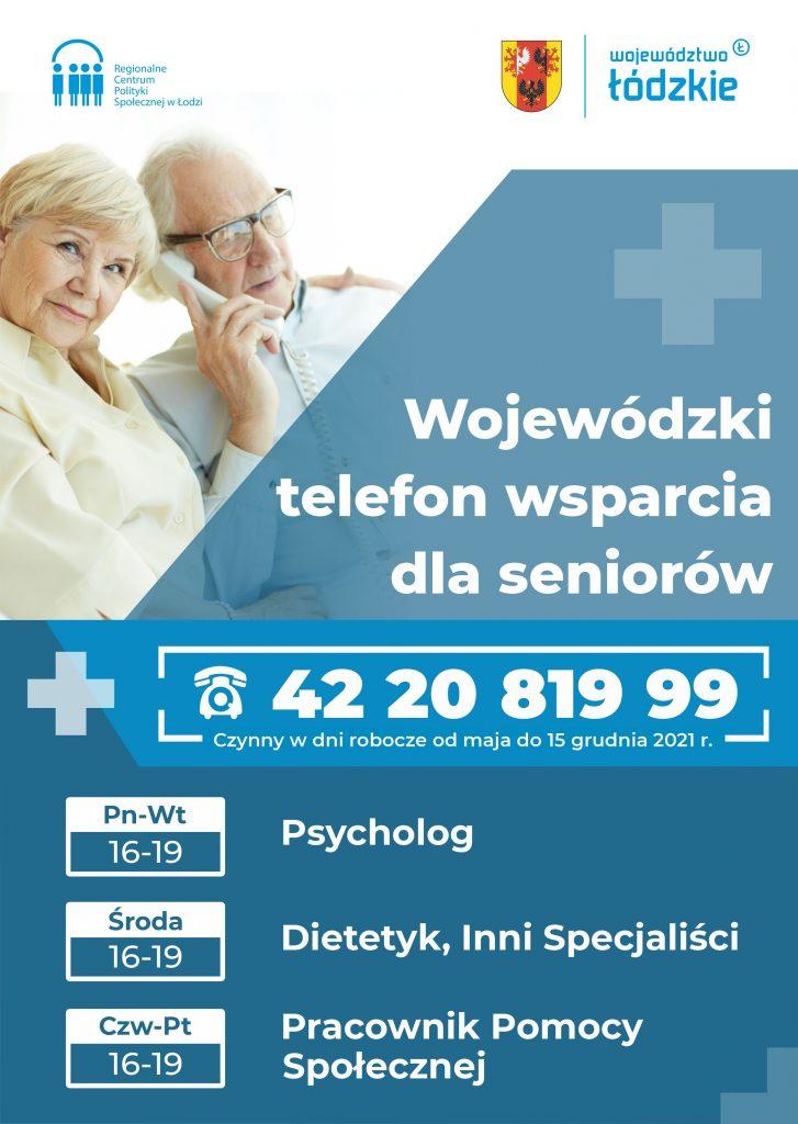 Wojewódzki Telefon Wsparcia dla Seniorów