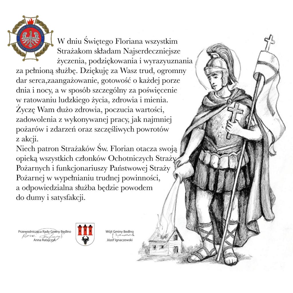 Święto Św. Floriana - patrona wszystkich strażaków