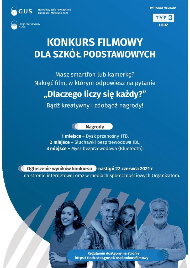 Narodowy Spis Powszechny Ludności i Mieszkań 2021. - KONKURS FILMOWY