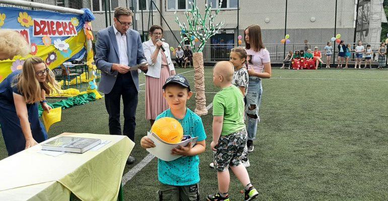 ekologiczny dzień dziecka w SP. Bedlno