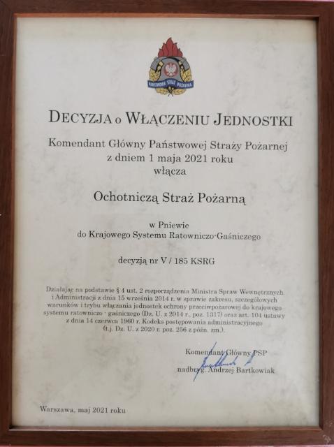 OSP Pniewo